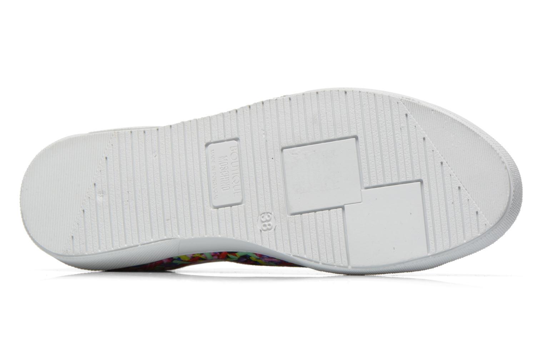 Deportivas Boutique Moschino Sneaker candy Multicolor vista de arriba