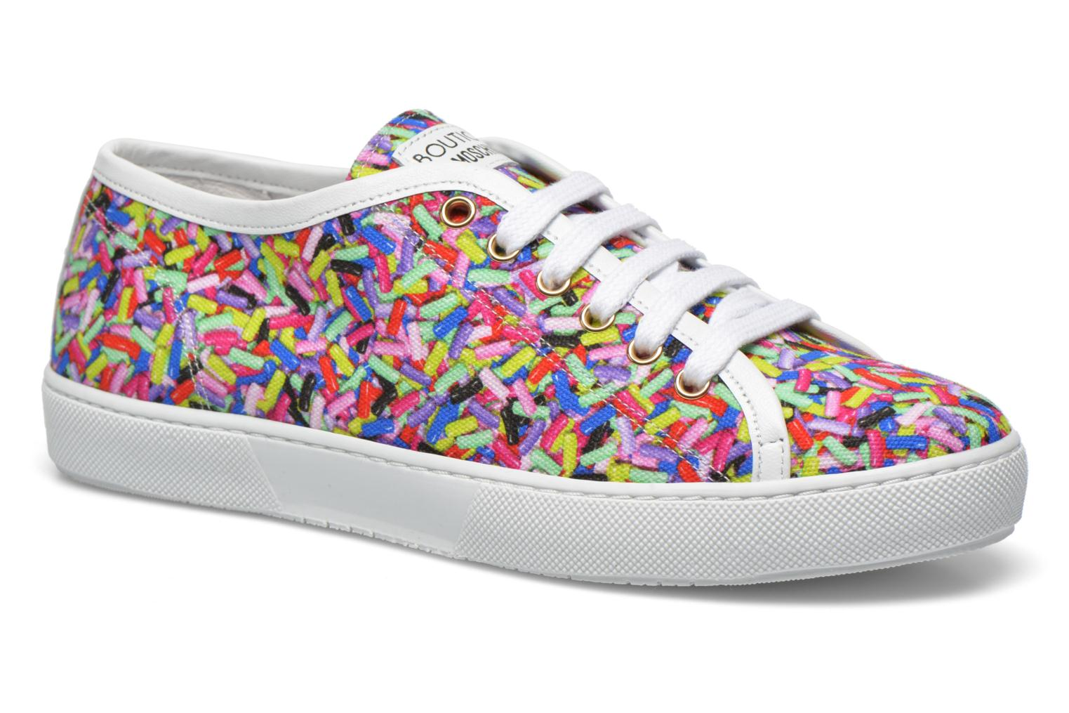 Trainers Boutique Moschino Sneaker candy Multicolor detailed view/ Pair view