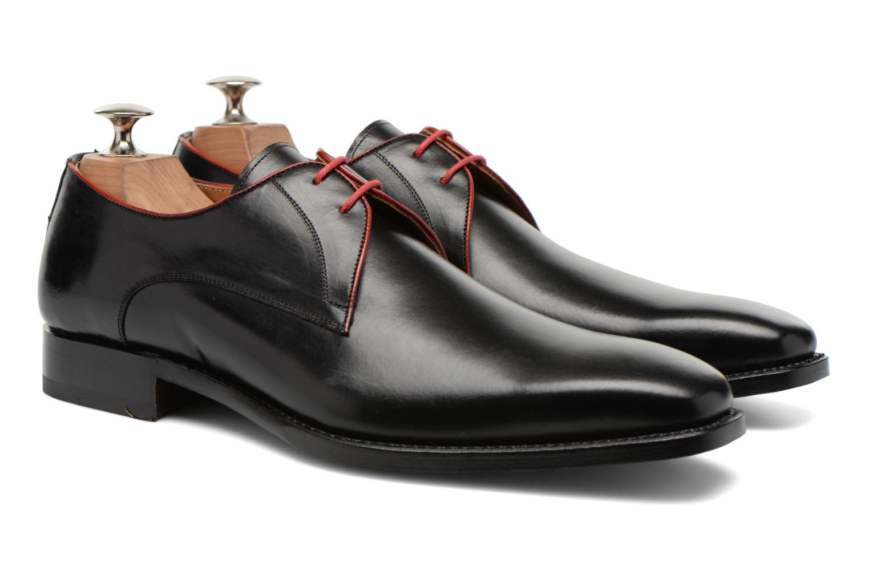 Chaussures à lacets Marvin&Co Luxe Welid - Cousu Blake Noir vue 3/4
