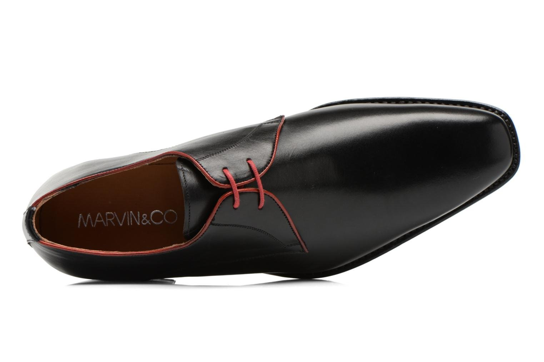 Chaussures à lacets Marvin&Co Luxe Welid - Cousu Blake Noir vue gauche