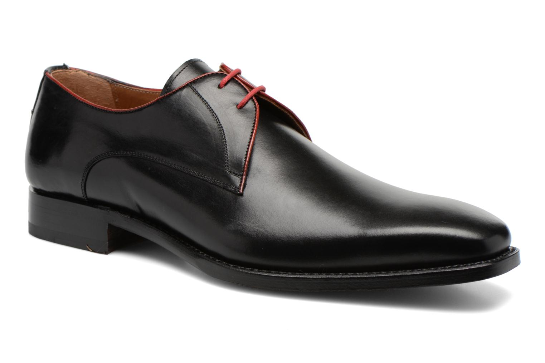 Chaussures à lacets Marvin&Co Luxe Welid - Cousu Blake Noir vue détail/paire