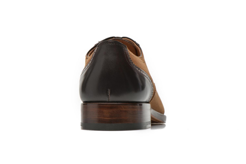 Snörade skor Marvin&Co Luxe Witold Brun Bild från höger sidan