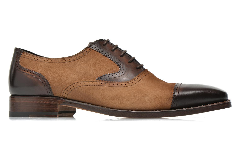 Snörade skor Marvin&Co Luxe Witold Brun bild från baksidan