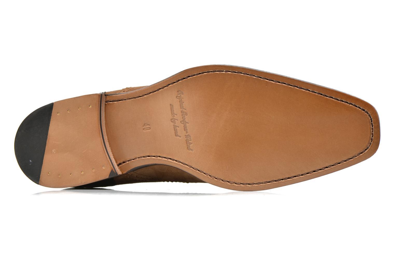 Snörade skor Marvin&Co Luxe Witold Brun bild från ovan