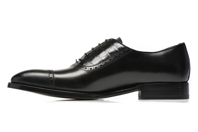 Zapatos con cordones Marvin&Co Luxe Woodly Negro vista de frente