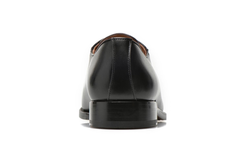 Zapatos con cordones Marvin&Co Luxe Woodly Negro vista lateral derecha