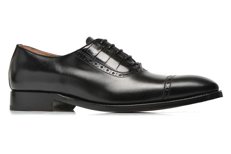 Zapatos con cordones Marvin&Co Luxe Woodly Negro vistra trasera