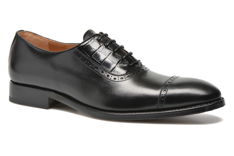 Zapatos con cordones Marvin&Co Luxe Woodly Negro vista de detalle / par