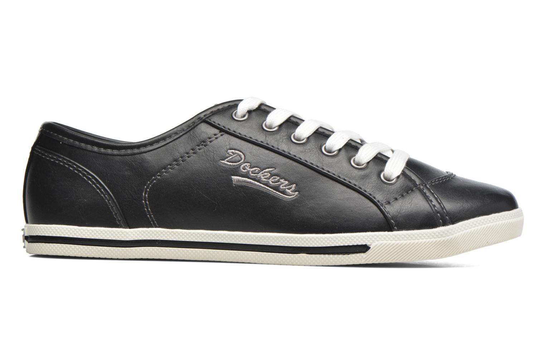 Sneaker Dockers Soli schwarz ansicht von hinten
