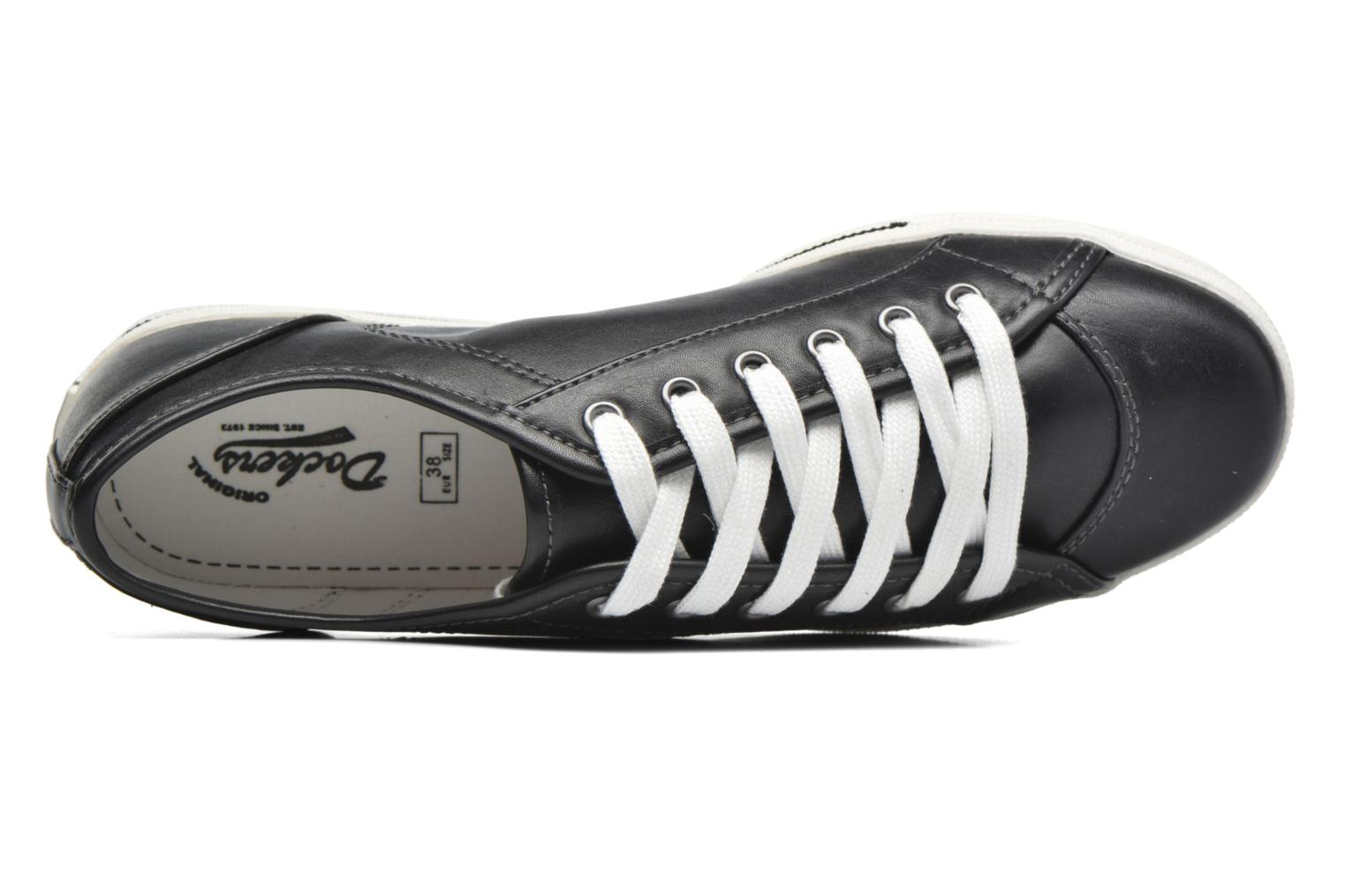 Trainers Dockers Soli Black view from the left