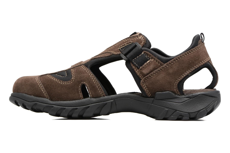Sandales et nu-pieds Dockers Roger Marron vue face