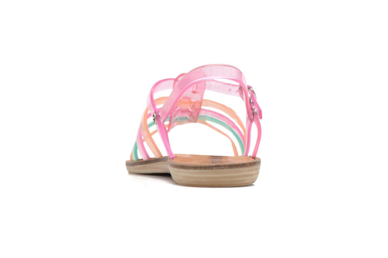 Sandalen Méduse Bora rosa ansicht von rechts