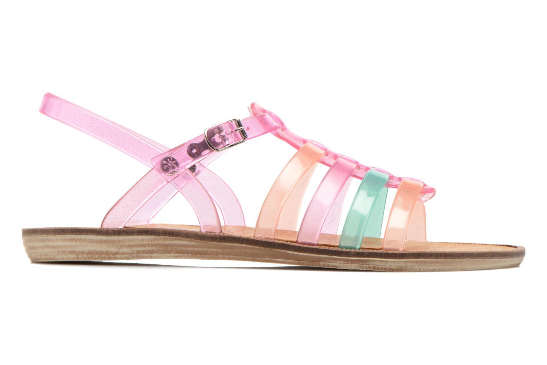 Sandalen Méduse Bora rosa ansicht von hinten