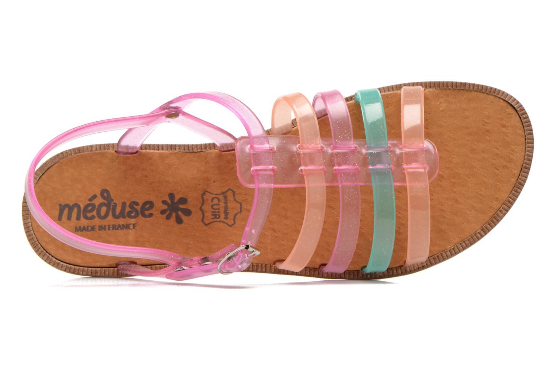 Sandalen Méduse Bora rosa ansicht von links