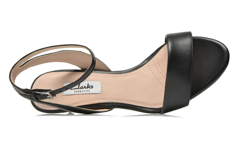 Sandales et nu-pieds Clarks Amali Jewel Noir vue gauche