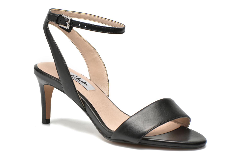 Sandales et nu-pieds Clarks Amali Jewel Noir vue détail/paire