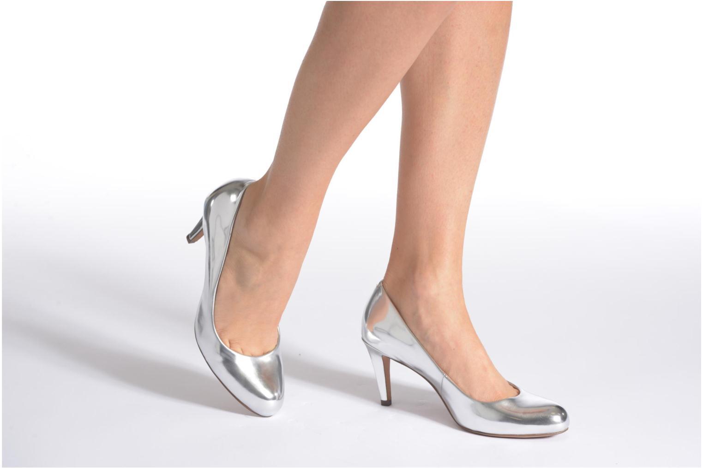 Zapatos de tacón Clarks Carlita Cove Rosa vista de abajo