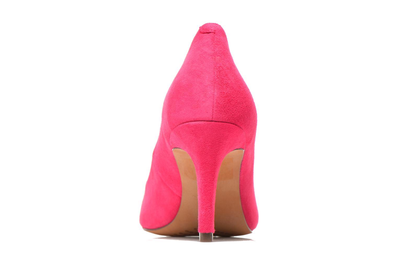 Zapatos de tacón Clarks Carlita Cove Rosa vista lateral derecha