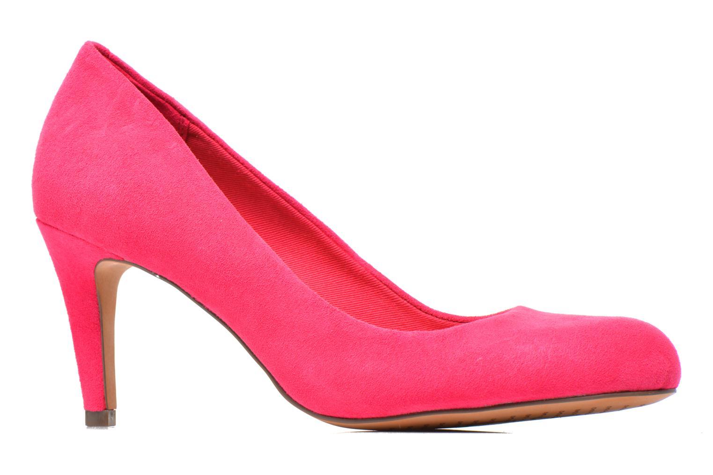 Zapatos de tacón Clarks Carlita Cove Rosa vistra trasera