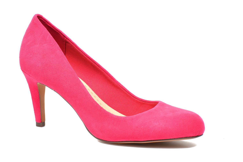 Zapatos de tacón Clarks Carlita Cove Rosa vista de detalle / par