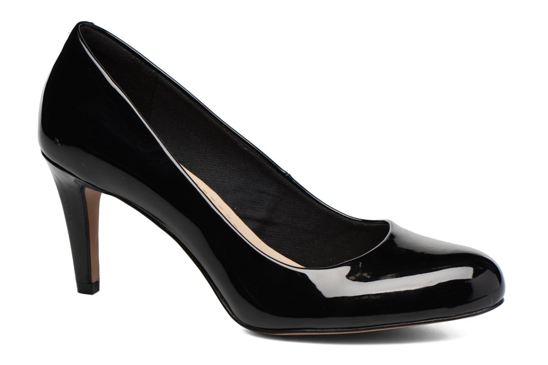 High heels Clarks Carlita Cove Black detailed view/ Pair view
