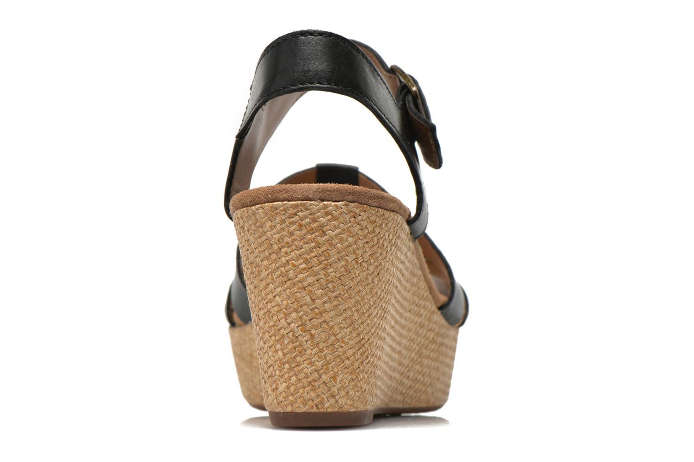 Sandales et nu-pieds Clarks Caslynn Harp Noir vue droite