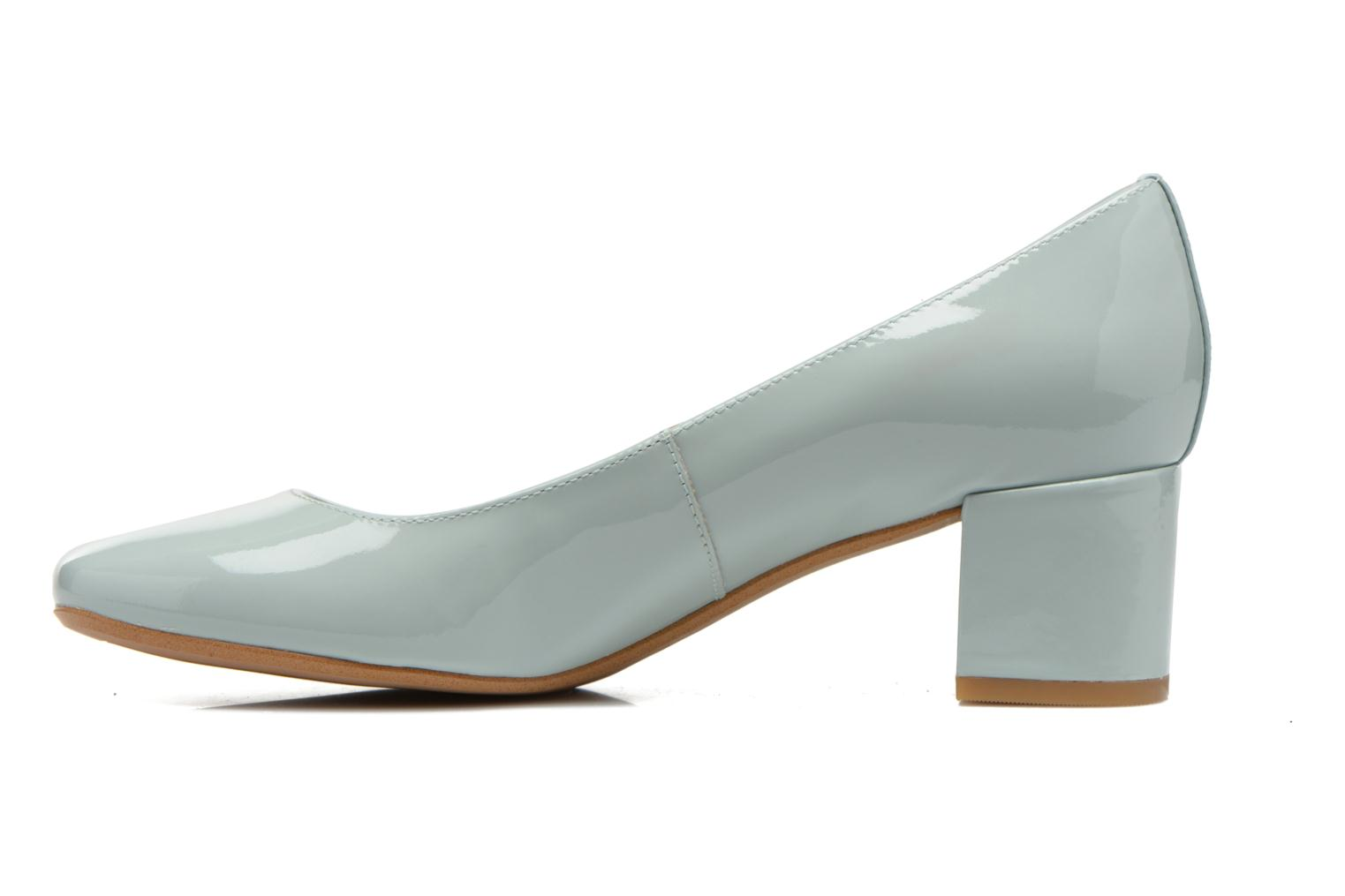 High heels Clarks Chinaberry Gem Blue front view