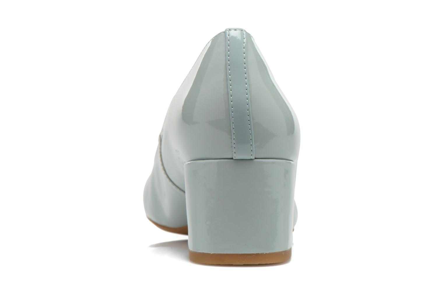 High heels Clarks Chinaberry Gem Blue view from the right