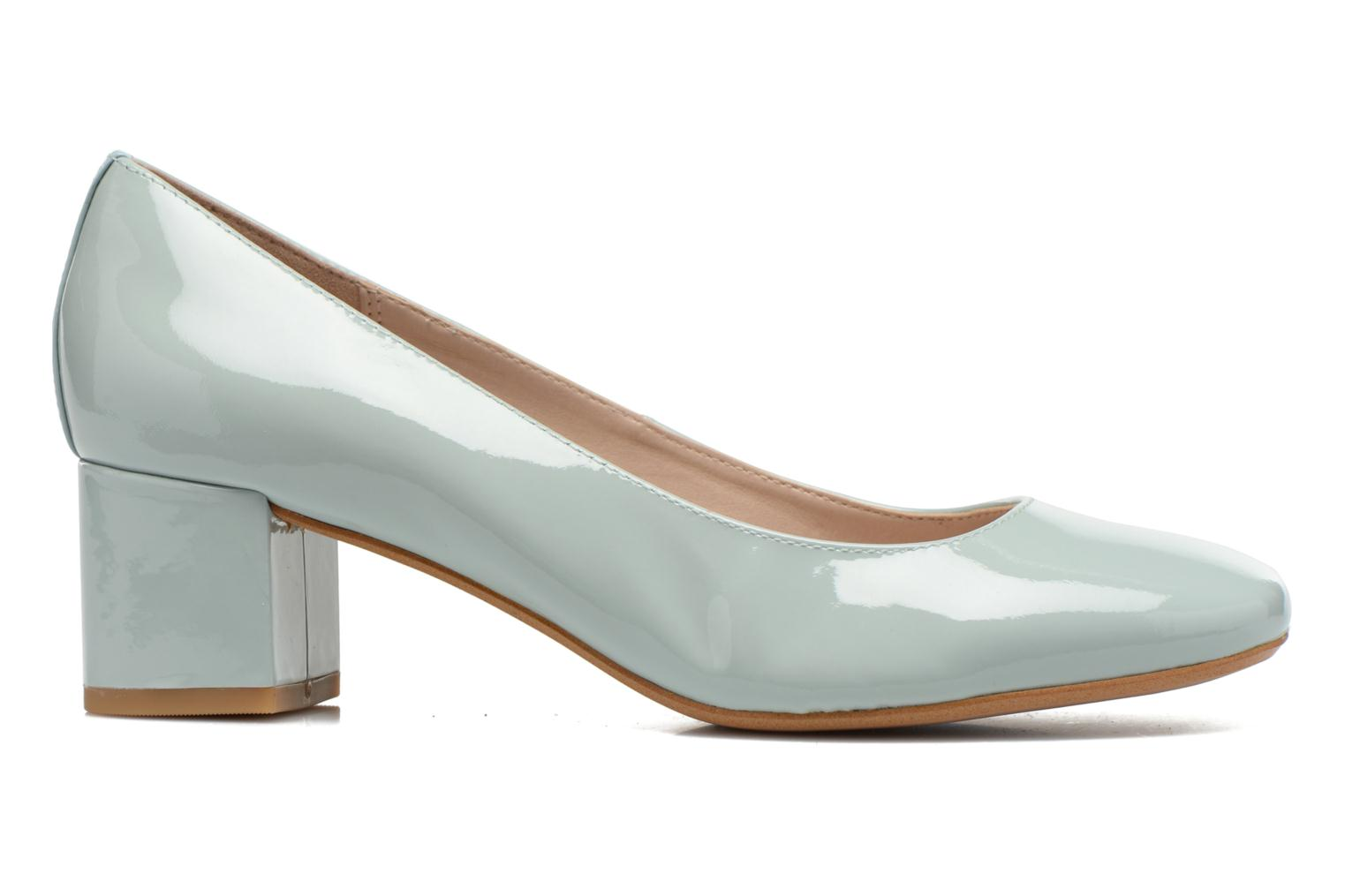 High heels Clarks Chinaberry Gem Blue back view
