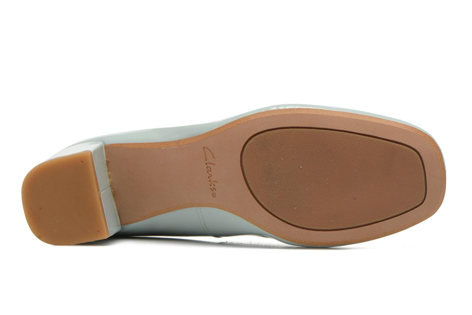 High heels Clarks Chinaberry Gem Blue view from above