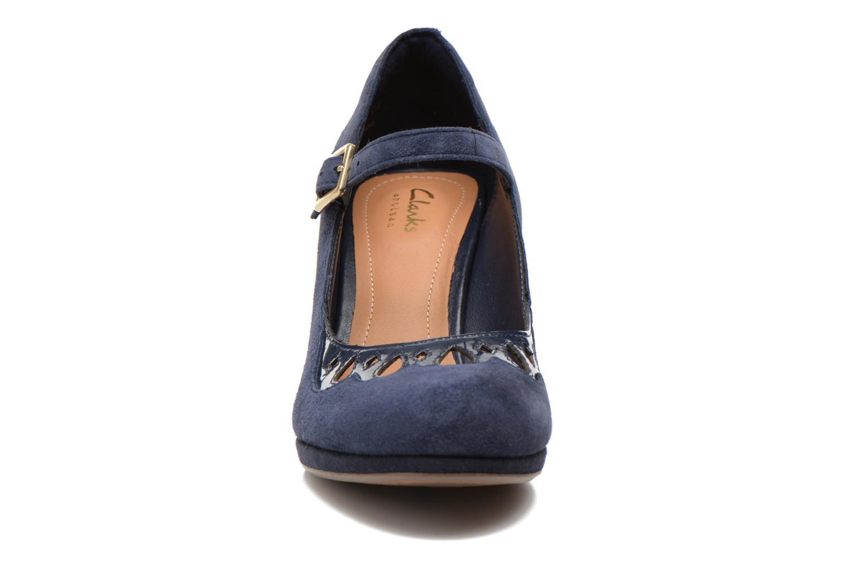High heels Clarks Chorus Music Blue model view