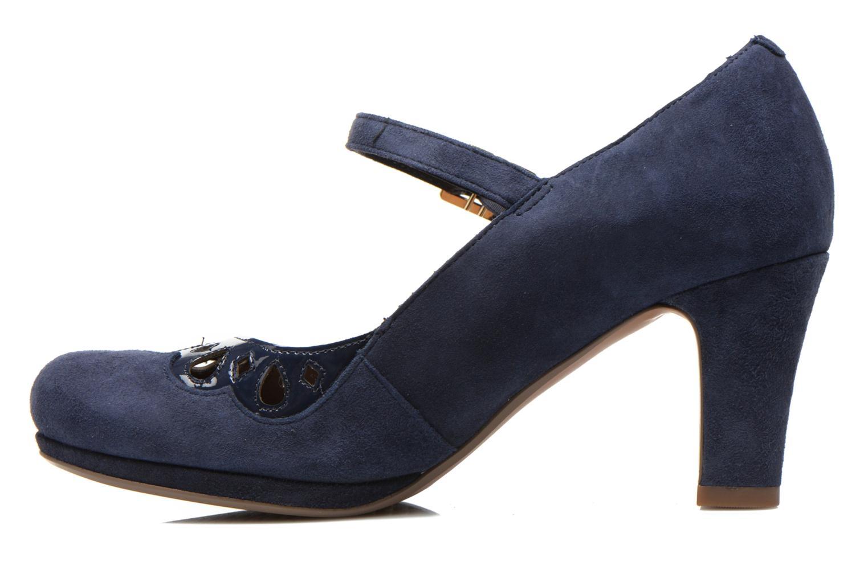 High heels Clarks Chorus Music Blue front view