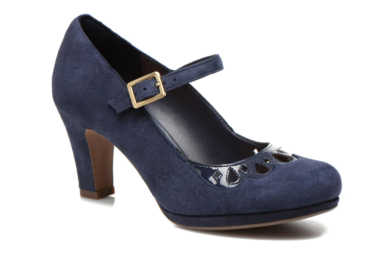 High heels Clarks Chorus Music Blue detailed view/ Pair view