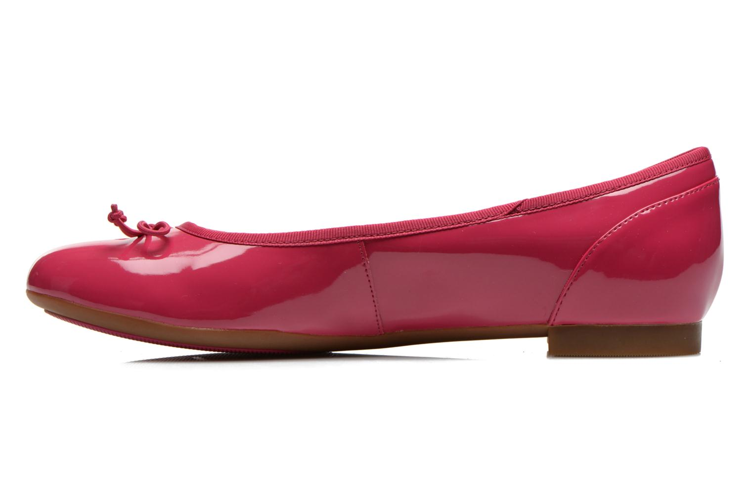 Ballet pumps Clarks Couture Bloom Pink front view