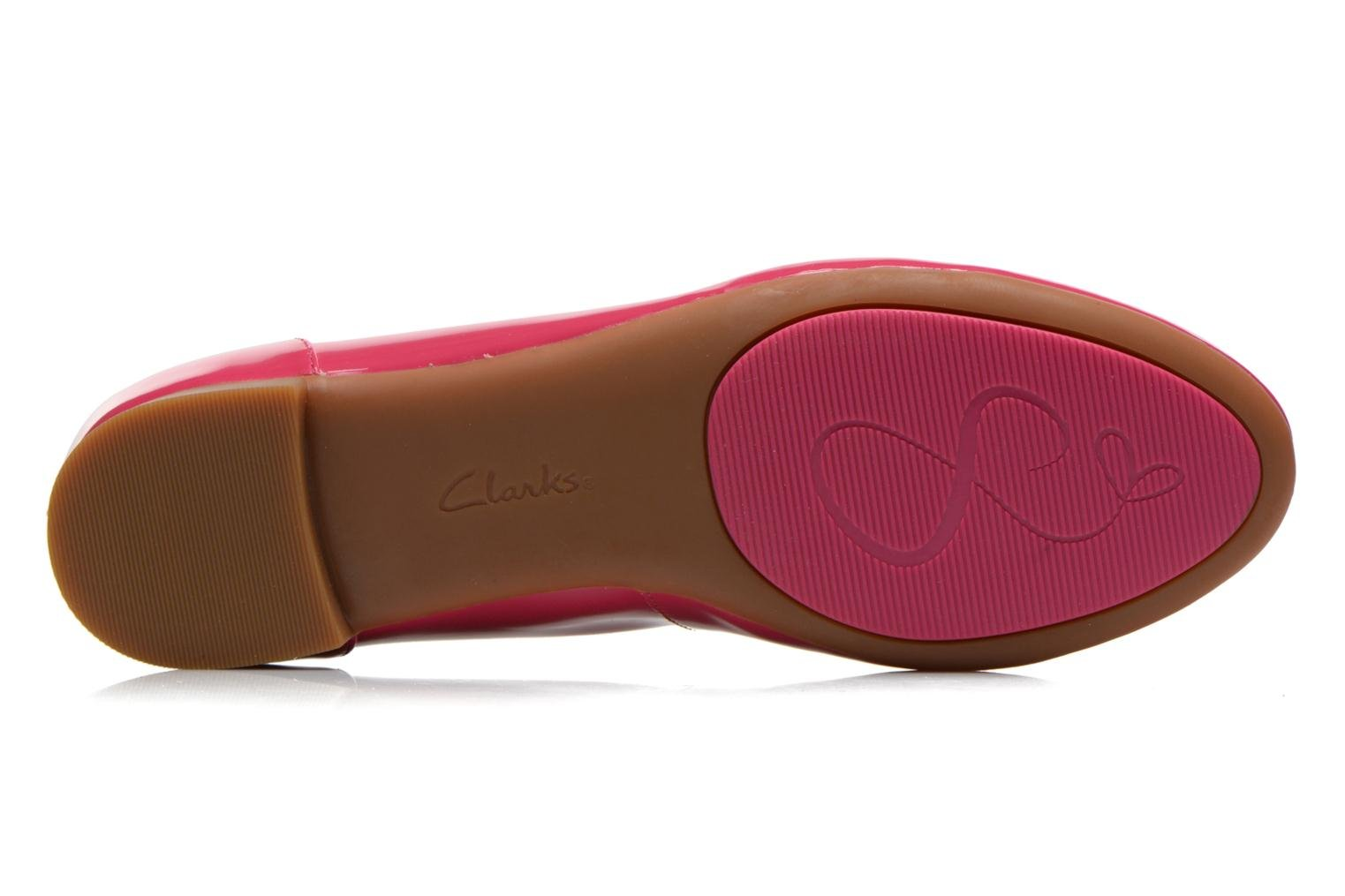 Ballerines Clarks Couture Bloom Rose vue haut