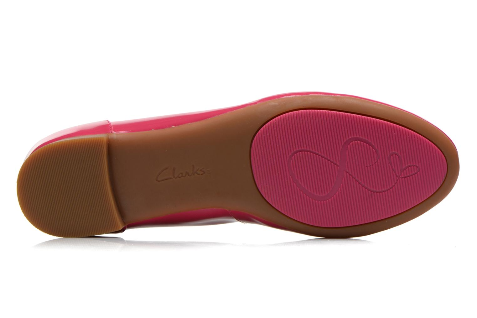 Ballet pumps Clarks Couture Bloom Pink view from above