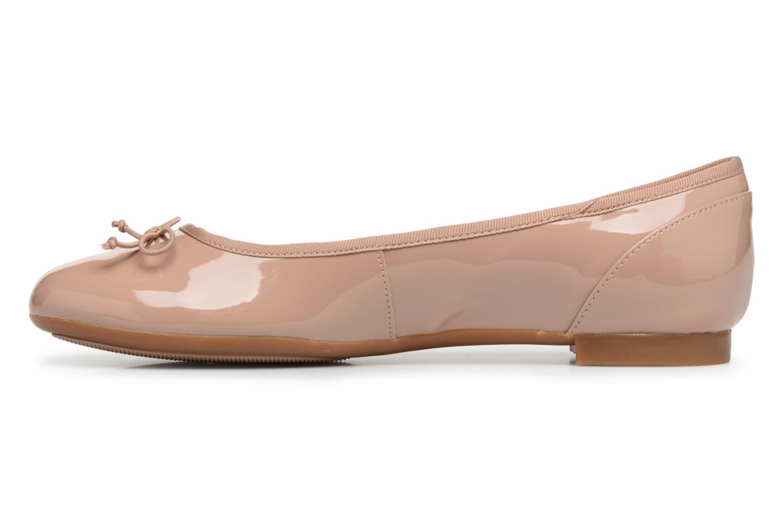 Ballerines Clarks Couture Bloom Beige vue face