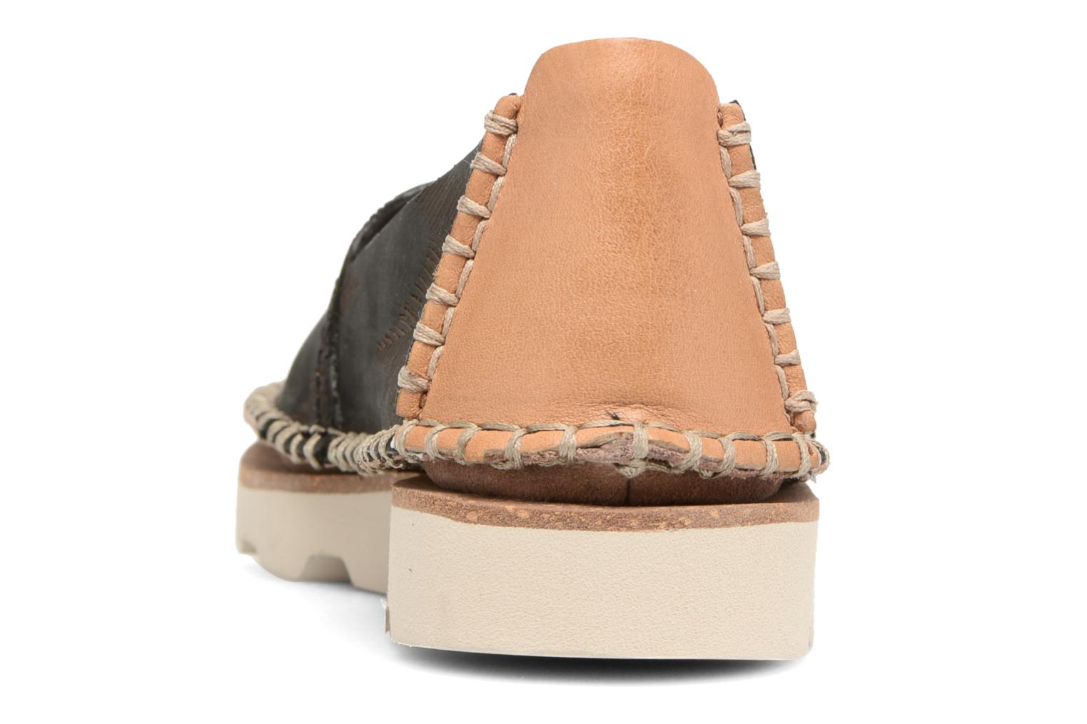 Espadrilles Clarks Damara Chic Black view from the right