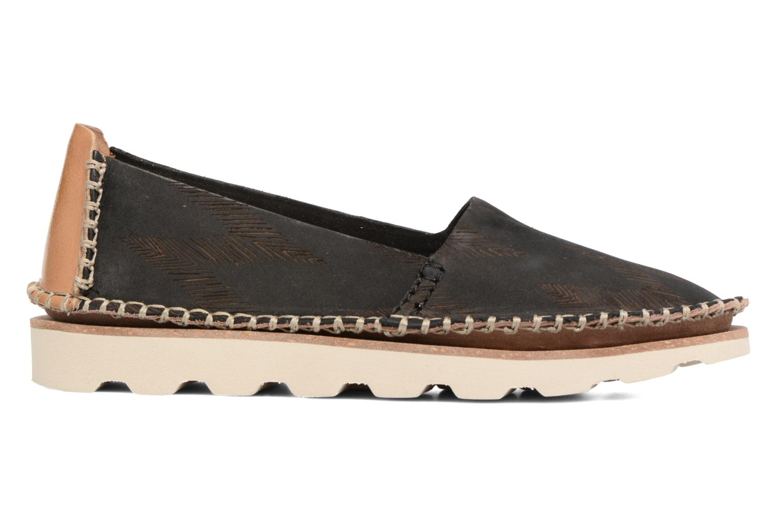 Espadrilles Clarks Damara Chic Black back view