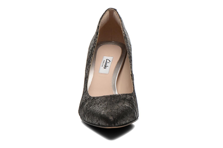 Escarpins Clarks Dinah Keer Or et bronze vue portées chaussures