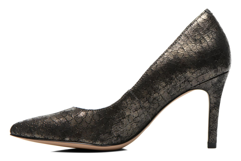 High heels Clarks Dinah Keer Bronze and Gold front view