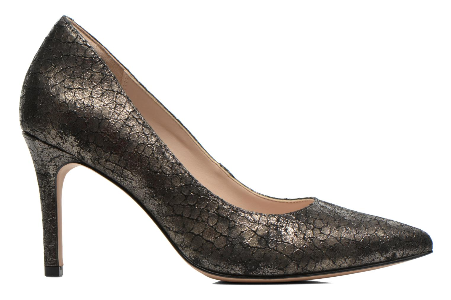 High heels Clarks Dinah Keer Bronze and Gold back view