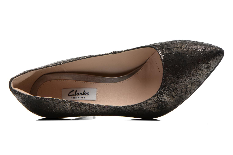 Escarpins Clarks Dinah Keer Or et bronze vue gauche