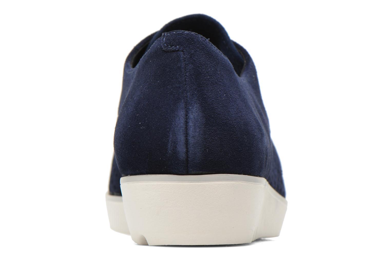 Chaussures à lacets Clarks Evie Bow Bleu vue droite