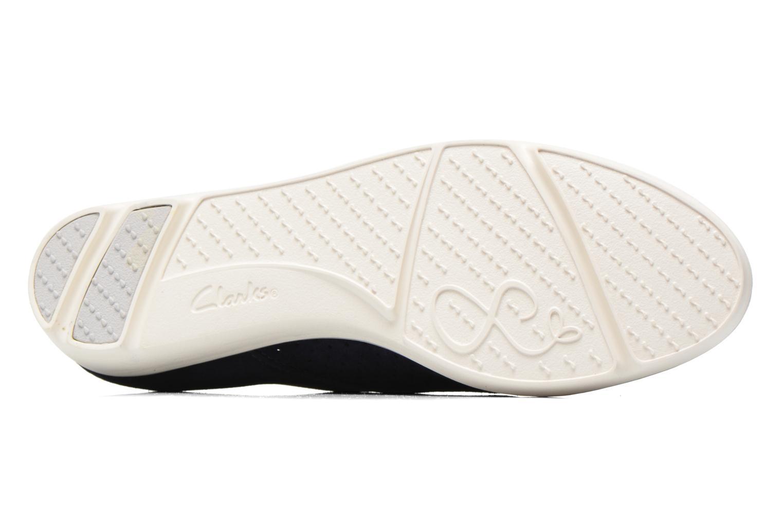 Chaussures à lacets Clarks Evie Bow Bleu vue haut