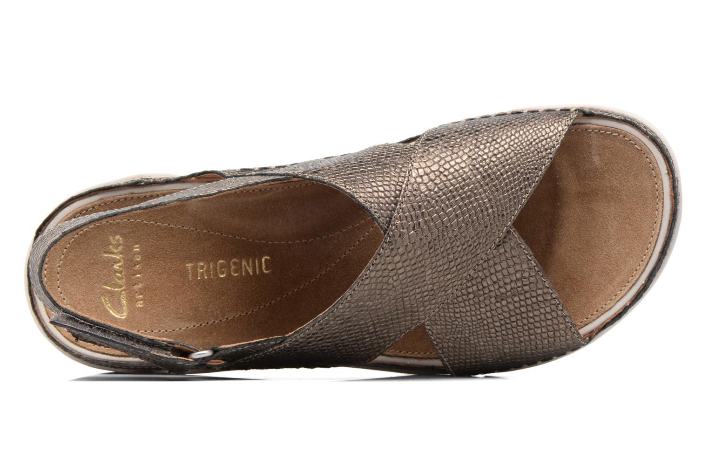 Tri Alexia Metallic Leather