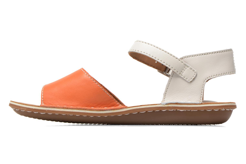 Sandales et nu-pieds Clarks Tustin Sinitta Orange vue face