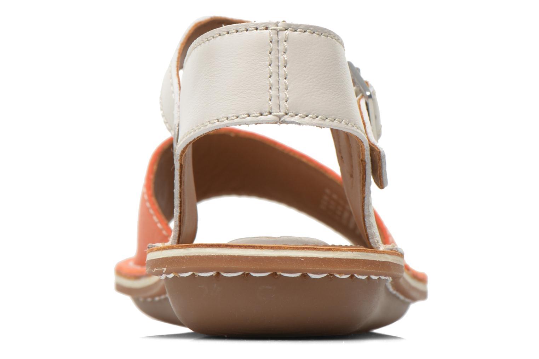 Sandales et nu-pieds Clarks Tustin Sinitta Orange vue droite