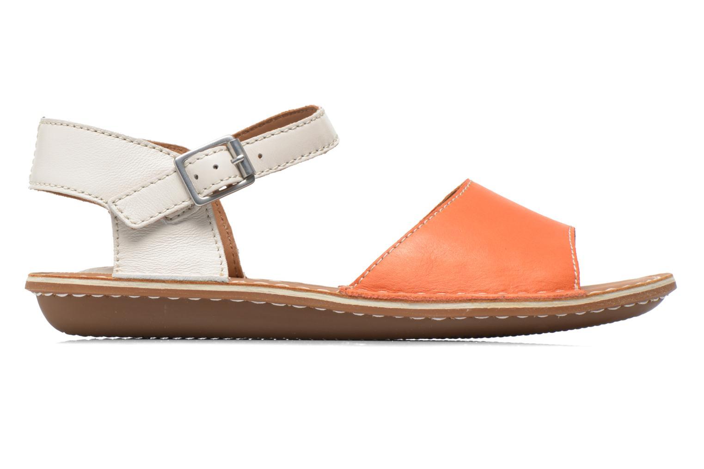 Sandales et nu-pieds Clarks Tustin Sinitta Orange vue derrière