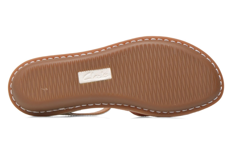 Sandales et nu-pieds Clarks Tustin Sinitta Orange vue haut